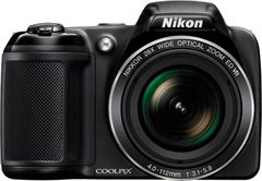 Nikon Coolpix L340 20.2 Point And Shoot Camera