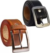 LOOPA Men Formal Multicolor Synthetic Belt