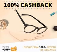 Get 100% Cashback On Best Collection of Eyewear via Amazon Pay Balance
