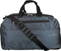 Dussle dorf Polyester 49 cm Grey Travel Duffel/Gym Bag with Shoe Compartment