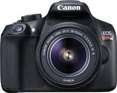 Canon EOS Rebel T6 DSLR Camera (EF-S 18-55mm + 75-300mm) Lens