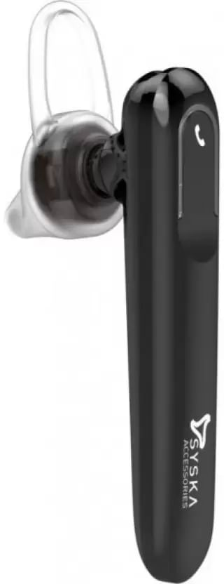 6857c22b9e6 Syska LB300 Black Bluetooth Headset with Mic Best Price in India 2019, Specs  & Review | Smartprix