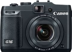 Canon PowerShot G16 Point & Shoot