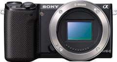 Sony NEX-5R/B 16.1MP Mirrorless Digital Camera