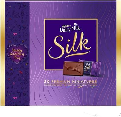 Cadbury Dairy Milk Silk Happy Valentine S Day Miniatures Collection