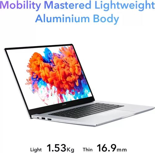 Honor MagicBook 15 Laptop (AMD Ryzen 5/ 8GB/ 256GB SSD/ Win10)