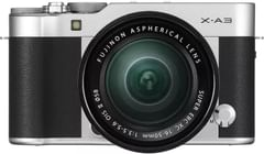 Fujifilm X-A3 Mirrorless Camera (With XC 16-50mm)