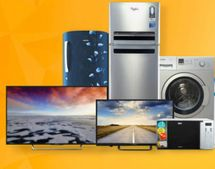Upto 40% OFF on TVs & Appliances + 10% Instant Discount via Bank Cards and EMIs