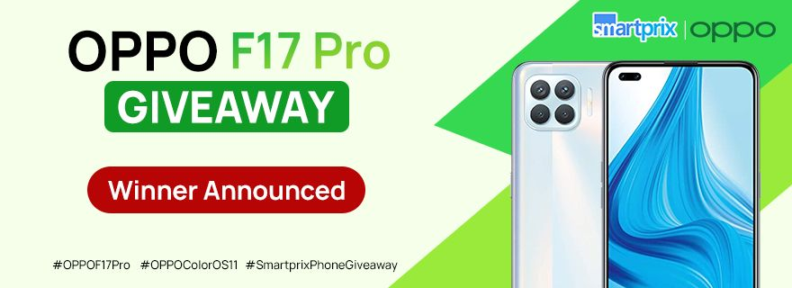 Smartprix Mega Giveaway – Win OPPO F17 Pro Smartphone