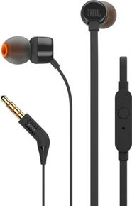 ba99e234687 JBL T110 Wired Headphone with Mic Best Price in India 2019, Specs ...