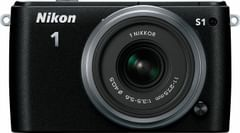 Nikon 1 S1 10.1MP Digital Camera with 11-27.5mm VR 1 NIKKOR Lens