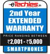 Etechies SmartPhone 1 Year Extended Basic Protection (For Device Worth Rs 2001 - 5000)