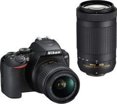 Nikon D3500 DSLR Camera (AF-P 18-55 + 70-300mm Lens)
