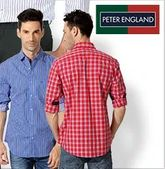 Peter England Men's Shirts: Upto 75% OFF