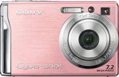 Sony Cybershot DSCW80 7.2MP Digital Camera