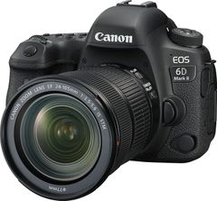 Canon EOS 6D Mark II 26.2MP Digital SLR Camera With EF24-105mm IS II USM Lens