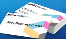 Free 100 Customized Business Cards