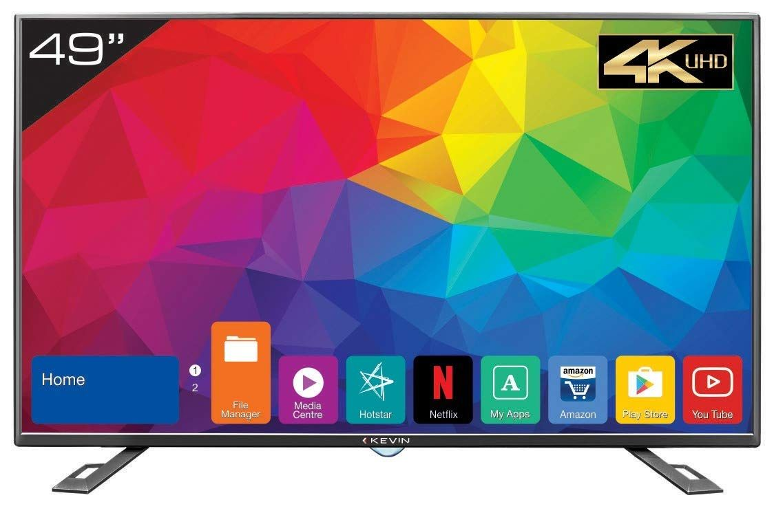 4d56676063e Kevin KN49UHD 49-inch Ultra HD 4K Smart LED TV Best Price in India 2019