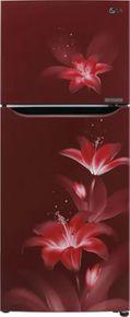 LG GL-T292SRGY 260 L 2 Star Double Door Convertible Refrigerator