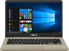 Asus VivoBook S410UA-EB606T Laptop (7th Gen Ci3/ 8GB/ 1TB HDD 128GB SSD/ Win10 Home)
