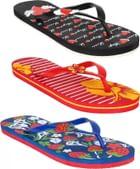 Bersache COMBO-342-341-340 Slippers (Pack of 3)