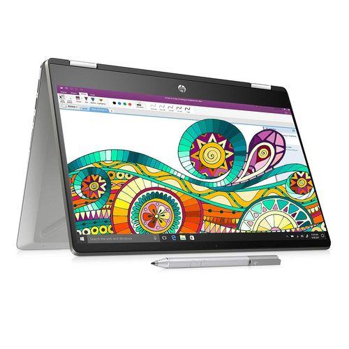 HP Pavilion TouchSmart 14 x360 14-dh0101tu (6ZF27PA) Laptop (8th Gen Core i3/ 4GB/ 256GB SSD/ Win10)