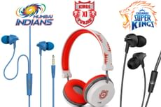boAt Special Edition Headphones: Chennai Super Kings, Mumbai Indians & Kings XI Punjab