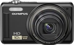 Olympus Digital Compact VR-310 Point & Shoot Camera