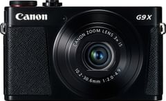 Canon PowerShot G9 X Point & Shoot Camera