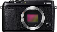 Fujifilm X-E3  Digital Mirrorless Camera Body Only