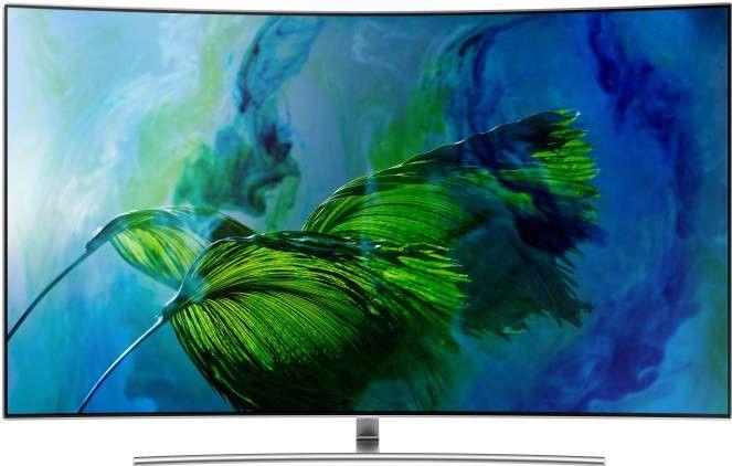 Samsung 65Q8CN (65-inch) Ultra HD Curved QLED Smart TV