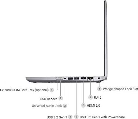 Dell Latitude 5411 Laptop (10th Gen Core i5/ 8GB/ 512GB SSD/ Win10 Pro)