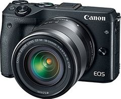 Canon EOS M3 DSLR Camera (EF-M 18-55mm IS STM)