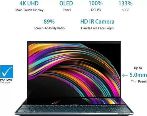 Asus UX581LV-H2035T Gaming Laptop (10th Gen Core i9/ 32GB/ 1TB SSD/ Win10 Home/ 6GB Graph)