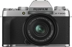 Fujifilm X-T200 Mirroless Camera with 15-45mm Lens