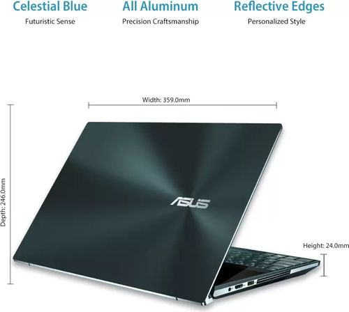 Asus UX581LV-H2034T Gaming Laptop (10th Gen Core i7/ 32GB/ 1TB SSD/ Win10 Home/ 6GB Graph)
