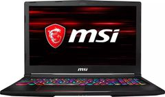 MSI GE63 8RF-215IN Gaming Laptop (8th Gen Ci7/ 16GB/ 1TB 256GB SSD/ Win10 Home/ 8GB Graph)
