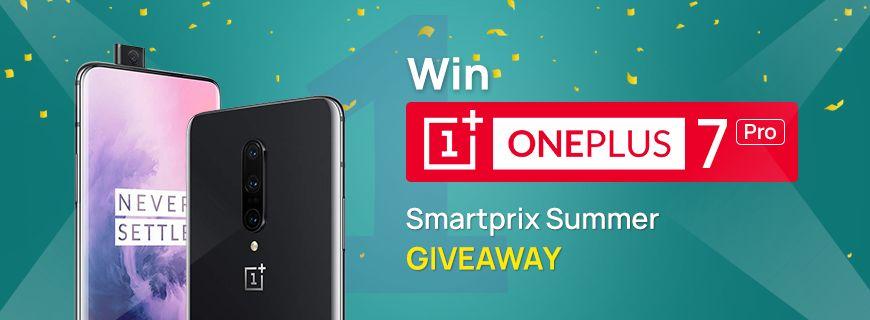 Win OnePlus 7 Pro - Smartprix Summer Giveaway