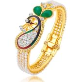 Gold Plated Bangles For Women by Sukkhi | Extra Rs. 50 OFF