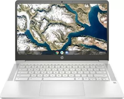 HP 14a-na0003tu Laptop (Celeron Dual Core/ 4GB/ 64GB eMMC/ Chrome OS)