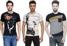 Teesort Graphic Print T-Shirts from ₹179