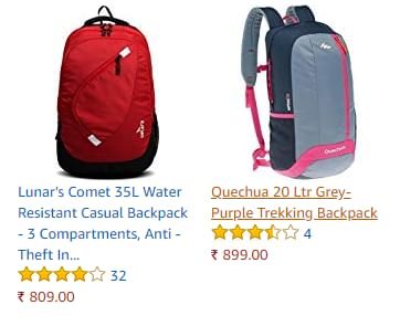 Adidas 35 Ltrs Minblu and Cwhite Casual Backpack (S95100NS)   Smartprix 5d4c83e0bb