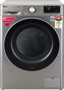 LG FHV1408ZWP 8 Kg 5 Star Fully Automatic Front Load Washing Machine