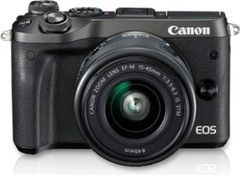 Canon EOS M6 DSLR Camera (EF-M15-45 IS STM lens)