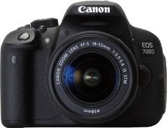 Canon EOS 700D DSLR (EF-S 18-55mm IS STM Lens)