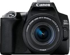 Canon EOS 200D II DSLR Camera (18-55 mm and 55-250 mm Dual Lens Kit)