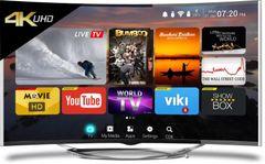 CloudWalker CLOUD TV 55SU-C (55-inch) Ultra HD 4K Curved Smart LED TV