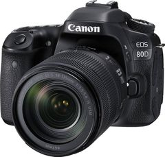 Canon EOS 80D DSLR Camera (EF-S 18-135mm IS USM + 70-300mm IS II)