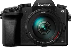 Panasonic LUMIX DMC-G7HK DSLM Mirrorless Camera with 14-140mm Lens