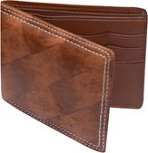Stylish Brown PU Single fold Wallet